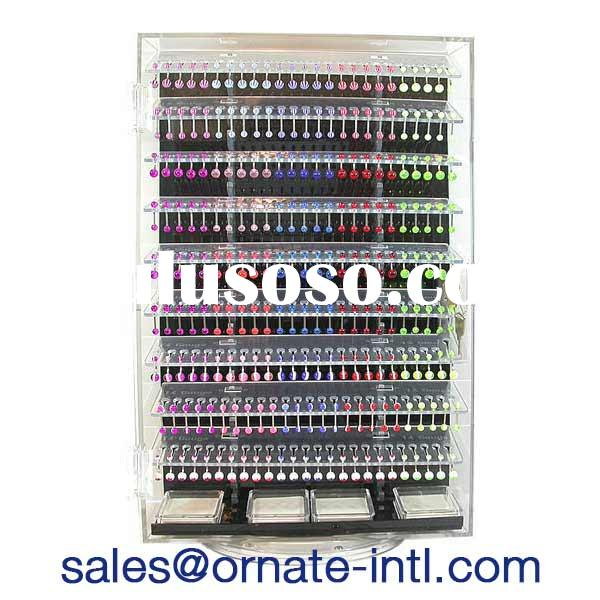 wholesale body jewelry display case,bodyjewelry display showcase