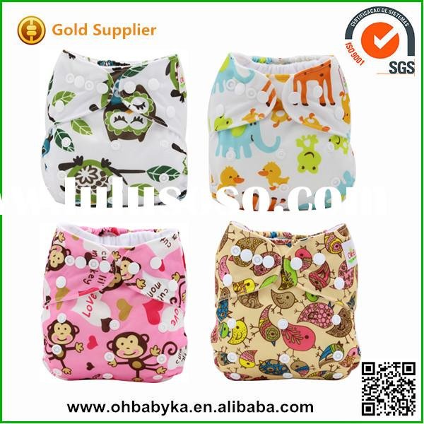 Ohbabyka New baby products 2014 washable reusable baby cloth diapers