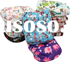 Ohbabyka Soft Reusable cartoon China Cloth Diapers