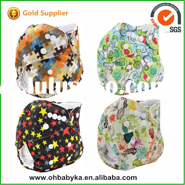 Waterproof Reusable Baby Cloth Diaper/ Cloth Nappy