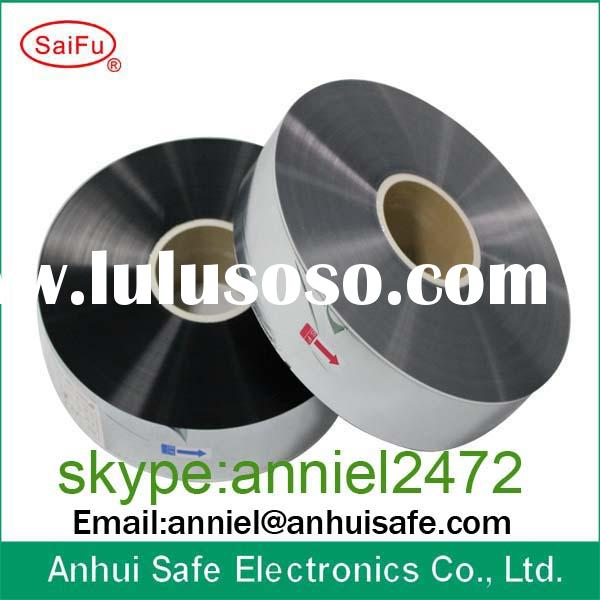 Aluminum alloy metallized polypropylene polyester film