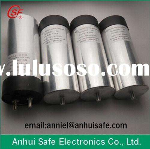 wind power dc capacitor solar power photovoltaic dc capacitor cylinder aluminum case