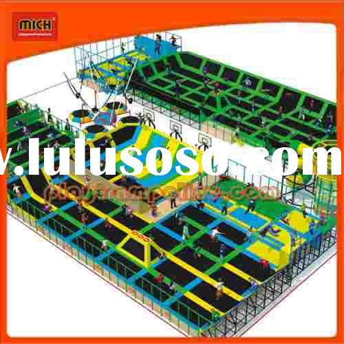 High Quality Newest Design Large Trampoline Park