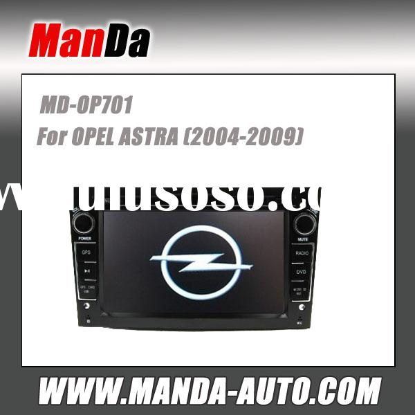 Manda 2 din hd touch screen car dvd player for OPEL ASTRA (2004-2009) indash audio radio