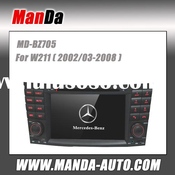 2 Din Touch Screen Car Dvd Radio Player for Mercedes BENZ E-W211 CLS W219 CLK W209