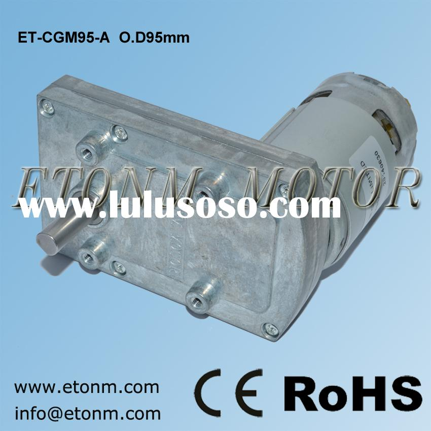 all metal gears electric gear motor with high torque