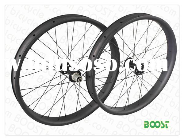 Carbon Fat Bike 26 inch wheel 65mm Width Hookless Tubeless Compatible form boostbicycle.com