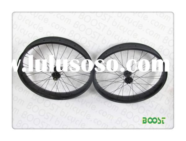 Carbon Fat Bike 29er wheel 50mm Width Hookless Tubeless Compatible form boostbicycle.com
