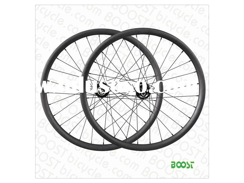 29er 27mm Width Carbon Clincher Mountain Bike Wheelset from boostbicycle.com