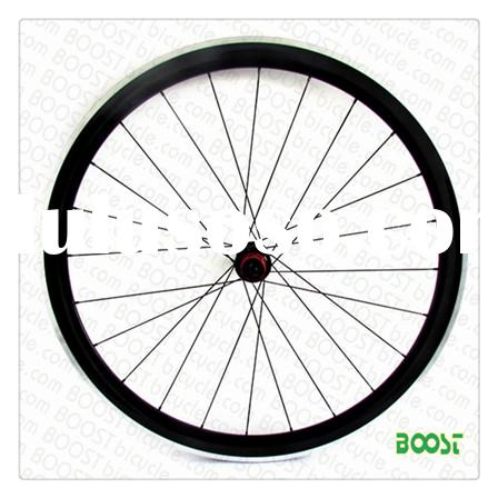 aluminum road bike parts 700C 50mm Clincher Carbon Alloy Road Bike wheelsets 23w