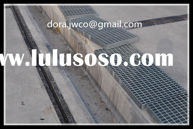 steel trench cover/manhole cover/steel drainage cover grating/gully grating/ sump cover grating