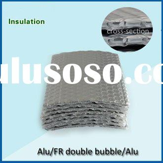 double bubble heat insulation material