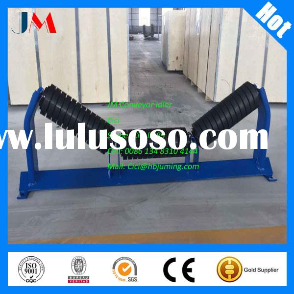 Impact Idler Roller Coated with Rubber Ring