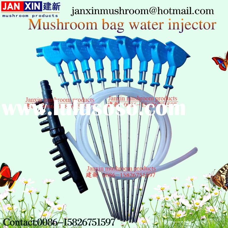 shiitake oyster mushroom growing tool of auto water filling needles injector