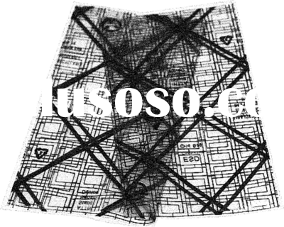 Transparent and customized Conductive Film with Grid
