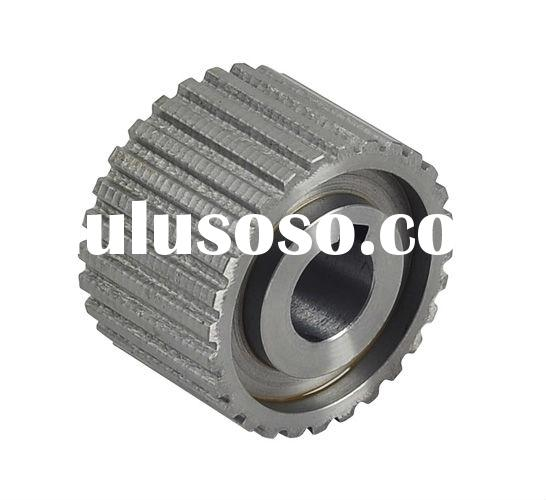 Cylindrical spur gear, straight tooth synchronizer