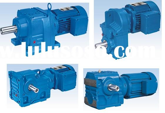 Helical gearbox, helical gearmotor SEW type