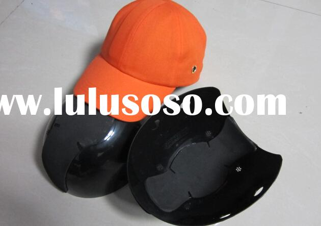 cotton twill baseball style CE EN 812 ABS bump shell safety bump cap