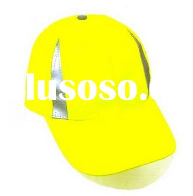 Hi viz yellow baseball style CE EN 812 china hat factory OEM safety bump cap