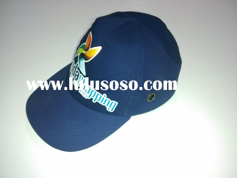 thermal transfer custom logo baseball style industrial bump cap