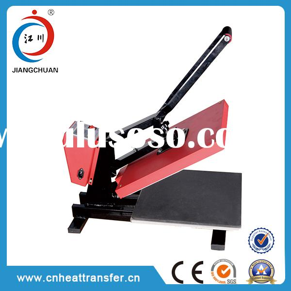 Well designed manual heat press soccer jersey printing machine