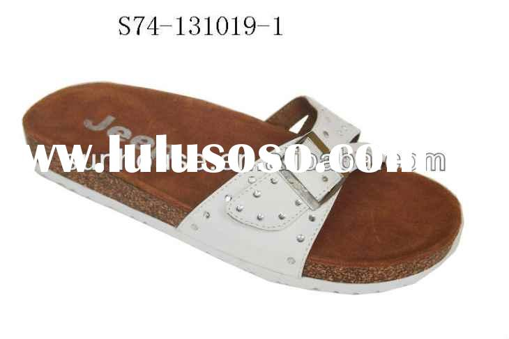 leather slippers for men Men Leather Slippers