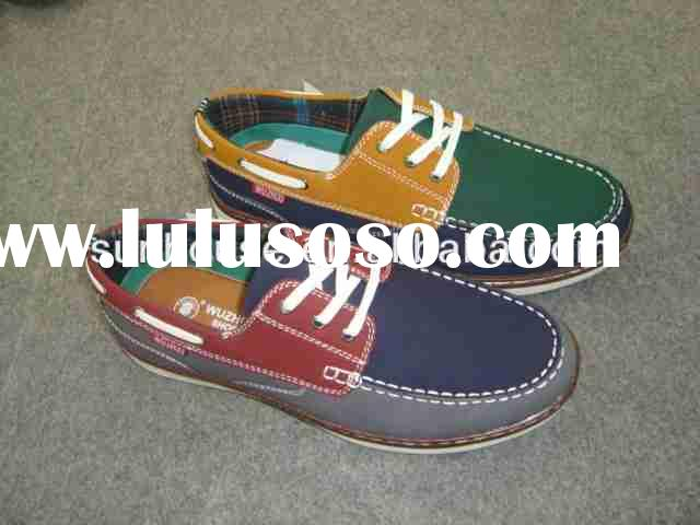 mens casual boat shoes Boat Cemented Man Casual Shoes