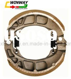Ww-5116 Cg125 Motorcycle Brake Shoe, 25*110mm, Motorcycle Part, Non-Asbestos, Semi-Metallic