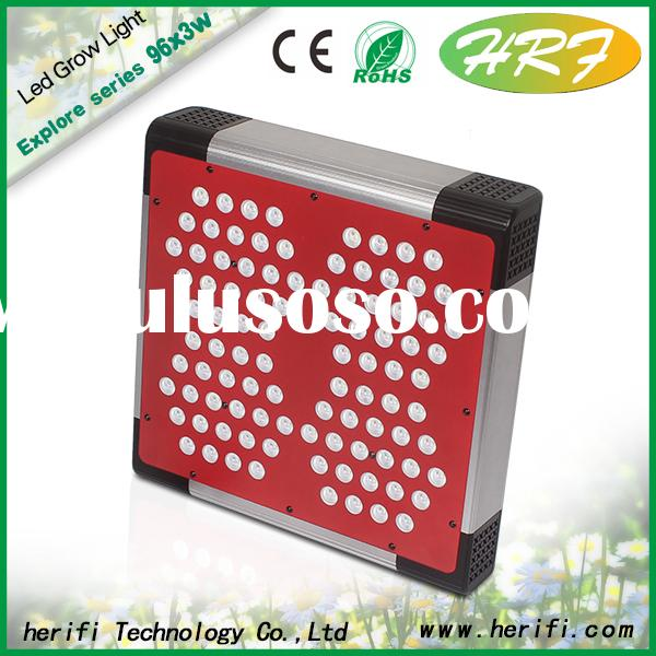 Herifi 2015 Latest Full spectrum LED grow light Explore Series EP004 96x3w LED Grow Light