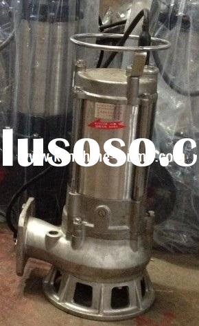 S Series stainless steel submersible sewage pump