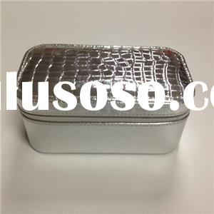 Sliver Mirrored Cosmetic Cases