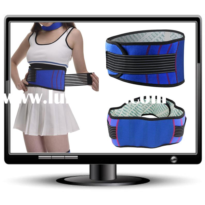 Promotional item fashion high quality heating waist support belt