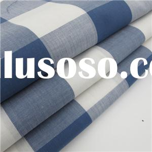 100% Cotton Yarn Dyed Plaid Fabric