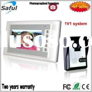 Saful TS-YP803DVR 7-inch TFT LCD wired video door phone (with taking picture function)
