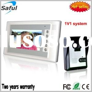 Saful TS-YP803 7-inch TFT LCD wired video door phone