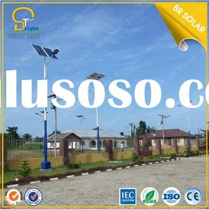 2015 Newest China 60W solar light with 9M height steel pole design