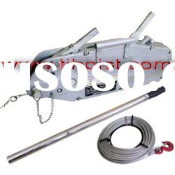 Wire rope pulling hoist,wire rope puller supply with CE,GS