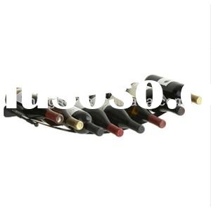 8 Bottle Decorative Wall Mounted Metal Wine Racks MH-MR-15018
