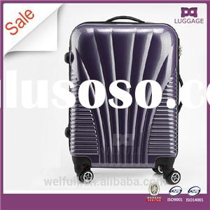 Purple Hard Shell Abs Trolley Bag Luggage