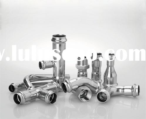 Stainless Steel Press Fitting V Profile