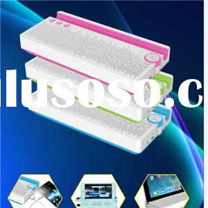 Portable Touch Bluetooth Wireless Speaker With 1000 MAh Power Bank USB Charger