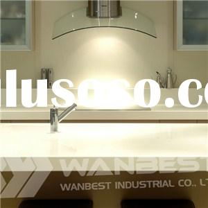 Hanex Solid Surface White Kitchen Counter