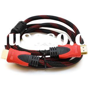 Nylon Woven High Speed High Quality Gold Plated HDMI Cable