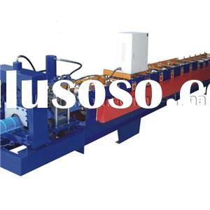 Automatic Metal Roofing Step Tile Ridge Cap Roll Forming Machine