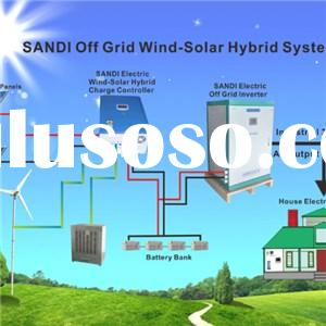 Solar And Wind Hybrid Power Systems