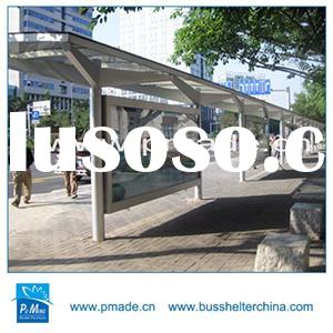 Attractive Custom Bus Shelter Stand Led Advertising Scrolling Light Box For Display