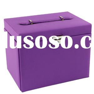 Colorfull PU Leather Jewelry Boxes