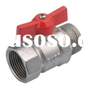 Male Female Butterfly Handle Valve