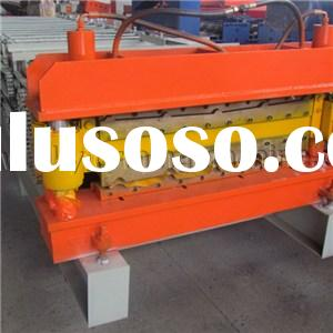 High Speed Metal Tile And Roof Double Layer Cold Roll Forming Machine