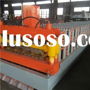 Color Steel Plate Double Layer Roof And Wall Panel Roll Forming Machine